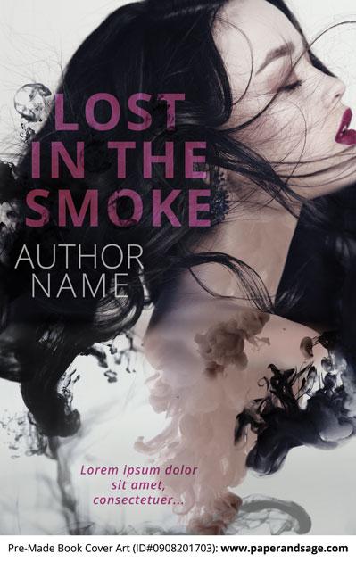Pre-Made Book Cover ID#0908201703 (Lost in the Smoke)