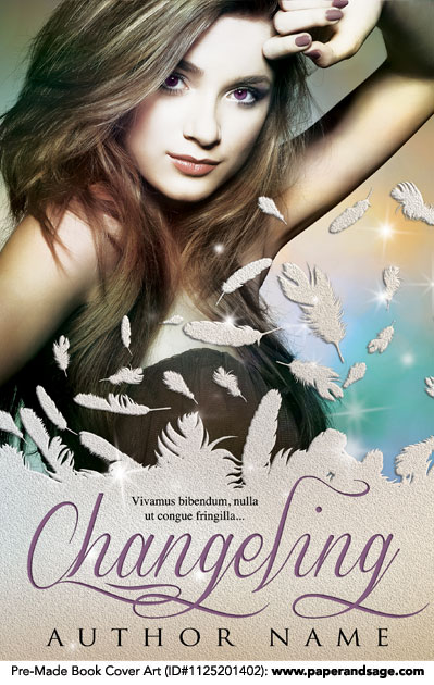 Pre-Made Book Cover ID#1125201402 (Changeling)