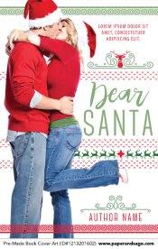 Pre-Made Book Cover ID#1213201602 (Dear Santa)