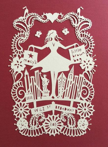 Bespoke Designs - New York - Paper Cut Gifts