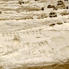 Signature of Gilmer Breckenridge of the camel brigade.