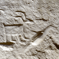 I love the petroglyphs of the mountain goats.