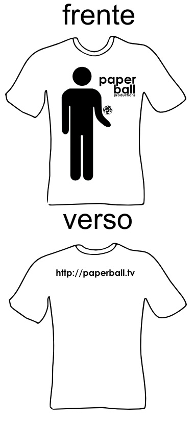 Camisa Template Paperball