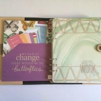 Tutorial: Erin Condren Life Planner inside Filofax Planner