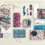 gift wrap collection roses and daisies