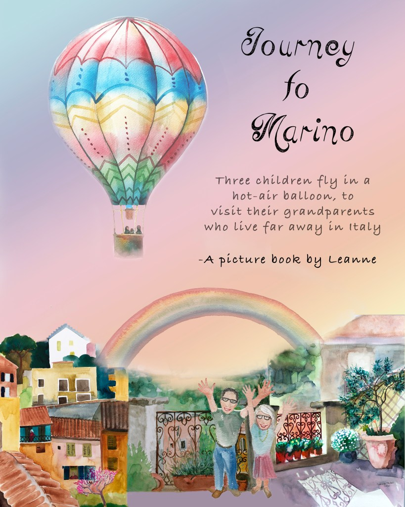 Leanne's book Journey to Marino