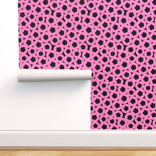 wallpaper pink liquorice PAPERBRUSH