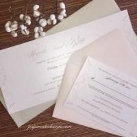 invitation flat card