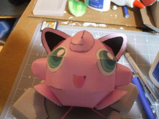 3D MODULAR ORIGAMI #108 JIGGLYPUFF FULL VERSION (NOT FAST) - YouTube | 394x525