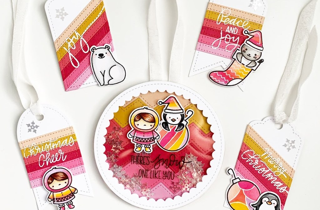 25 days of Christmas tags with Pretty Pink Posh!