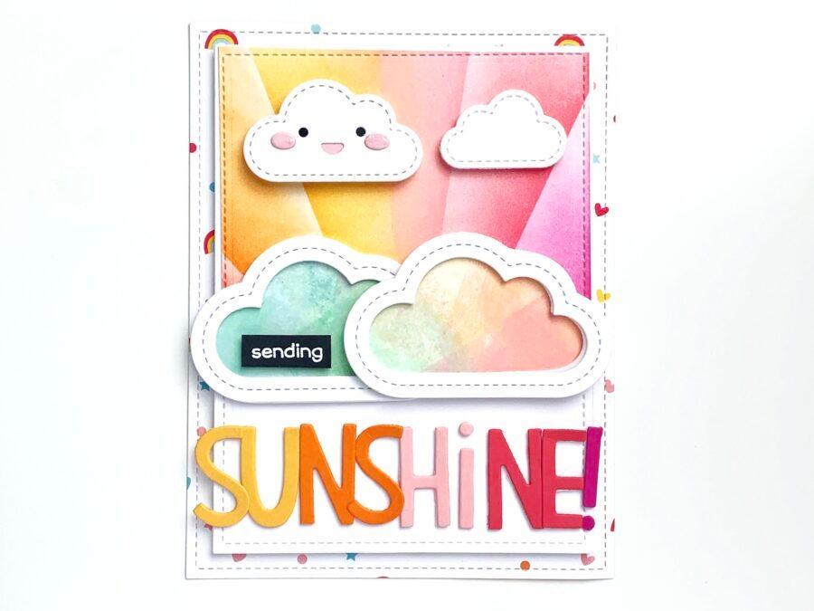 Sending Sunshine – Lawn Fawnatics challenge 95