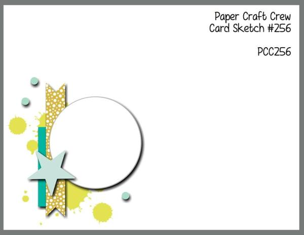 Play along with the Paper Craft Crew Sketch Challenge 256!  Visit www.papercraftcrew.com  #sketch #sketchchallenge #stampinup #sunnygirlscraps #playalong #cardmaking #papercrafting #papercraft #scrapbooking #handmade #rubberstamping #cards