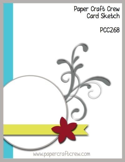 Play along with the Paper Craft Crew for Sketch Challenge 268. The challenge starts November 15th and ends November 21, 2017 at 1 PM EST. Visit the blog at www.papercraftcrew.com to check out the design team samples and to submit your project. #papercraftcrew #papercrafting #sketchchallenge #color #playalong #imakecards #cardmaker #diy #sendacard #craft #stampinup #cardchallenge #papercraft #bigshot #rainydayfun #designteam #becreative #artsandcrafts #hobby #snailmail #createeveryday #crafttherapy #creativelifehappylife #pcc2017