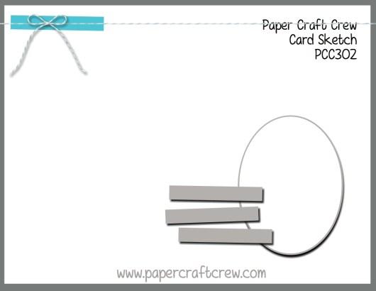 Paper Craft Crew Sketch Challenge 302! Play along with the latest challenge by visiting www.papercraftcrew.com #stampinup #papercraftcrew #papercrafts #stamping #sunnygirlscraps #crafting #crafts #craft #creative #creativity #create #sketchchallenge #colorchallenge #inspirationalchallenge #tictactoechallenge