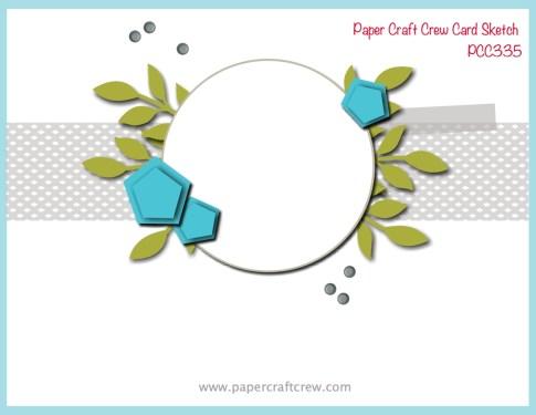 Paper Craft Crew Sketch Challenge 335