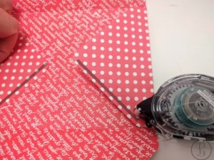 how to make an envelope flap fold