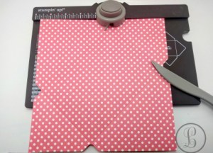 how to make an envelope rotate and punch