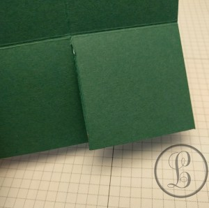 how to make a paper box first cut