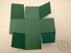 how to make a paper box tabs