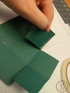 how to make a paper box tab 1 fold