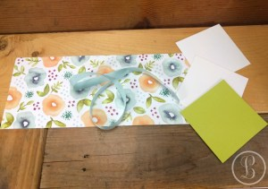 DIY gift card holder pieces