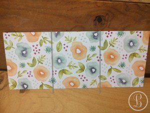 DIY gift card holder score and crease