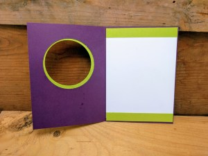 thank you card ideas - inside accent