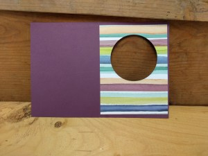 thank you card ideas - window cut complete