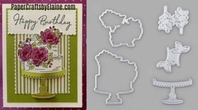 Happy Birthday Dies, Happy Birthday to You Dies and stamp set, Handmade cards, greeting cards, birthday cake, Happy Birthday  Sale-a-bration,