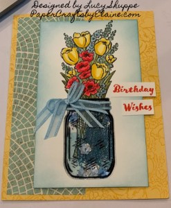 Jar of Flowers bundle, Virtual party, why host a virtual party?, get it Free from Stampin' Up, greeting cards, handmade cards, easy to make cards, cards for all occasions,