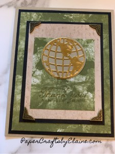 World of Good cards, papercraftsbyelaine.com, cards with layers, how to add layers, heat embossing, how to use using embellishments, greeting cards, handmade greeting cards, step it up stamping, Taking your cards to the next level,  handmade cards using world of Good stamp set,