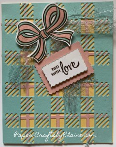 Gift Wrapped Bundle, Stampin' Up Gift Wrapped bundle, stamp set for year round, crafting with children, greeting cards, handmade greeting cards, Best Plaid Dies, cards for fun,