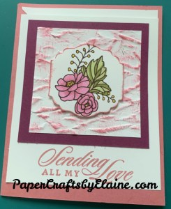 Last a Lifetime stamp set, Old world Paper embossing folder, greeting cards, handmade greeting cards, cards with a twist, no mistakes here, Lovely fall cards, fun  and easy cards to make, how to color embossing folders, dry embossing and coloring, Oops made great,