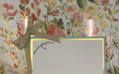 Sneak Peak: Fine Art Floral Suite Scrapbook