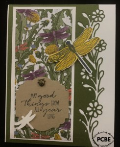 Dandy Garden DSP, handmade greeting cards, Ornate Garden Dies,  greeting cards. Stampin' Up Gift Certificate, purchase Stampin' Up gift cards