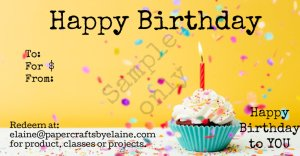 Happy Birthday gift Card, Gift cards for Birthday