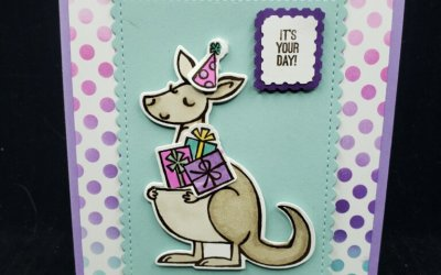 Too Stinkin Cute Kangaroo & Company