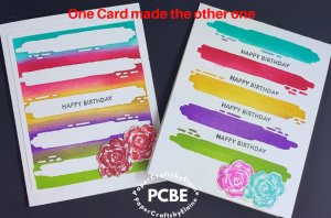 Die cut for 1 card-make 7, one card changed to 7, greeting cards, handmade greeting cards, clean fun greeting cards,