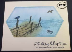 by the dock stamp set, cards for men, Male birthday cards, fishing cards for men, cards for the men in your life, creating a scene, learning to blend, blending brushes, Sales at Stampin' Up, birthday cards, anniversary cards, missing you cards,