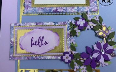 Beautiful Arrange A Wreath Scrapbook layouts