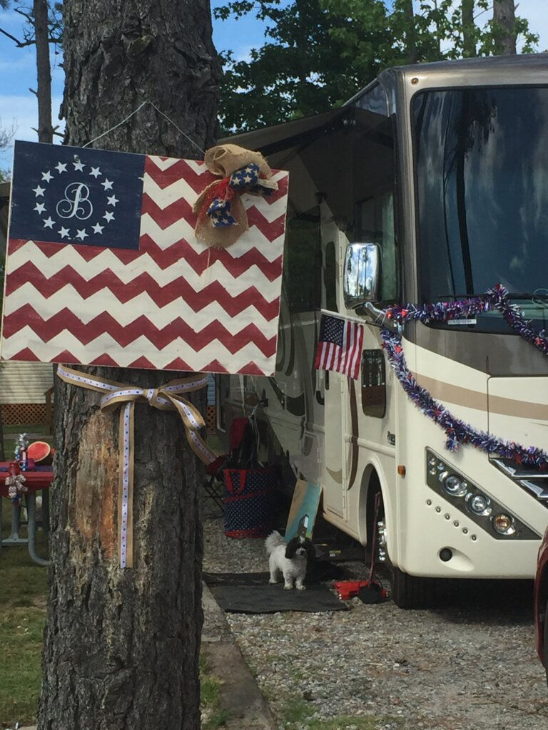 Crafting from an RV