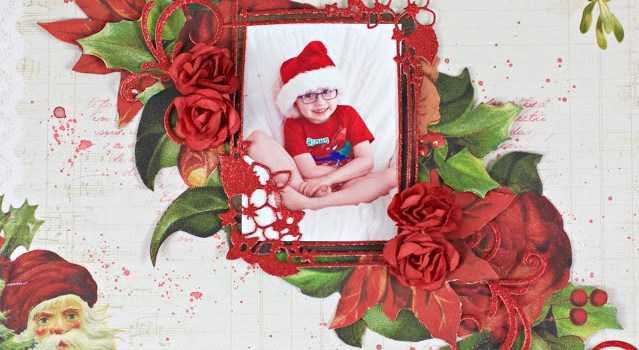 Christmas Cards and Layout with Instructions
