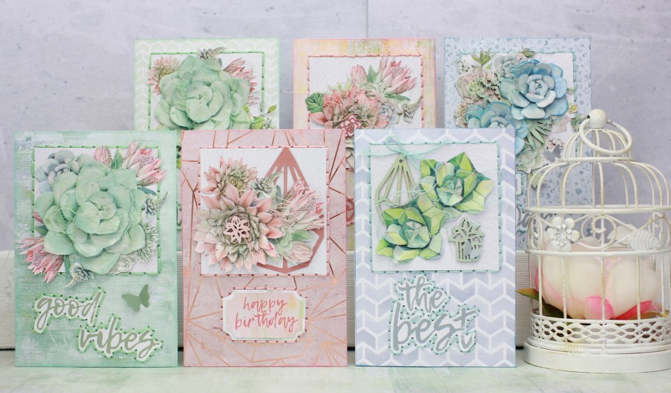 Green House Cards Free Online Class Paper Craft Secrets
