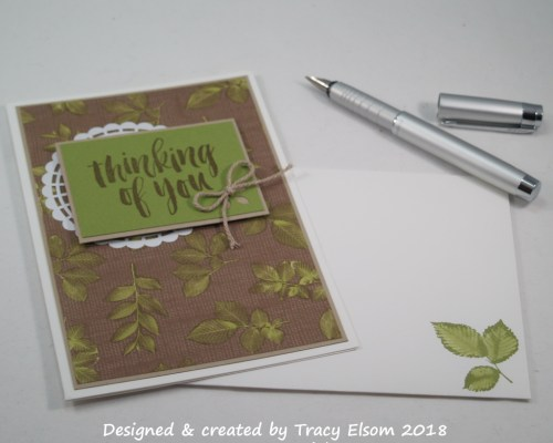 1472 Nature Thoughts Card