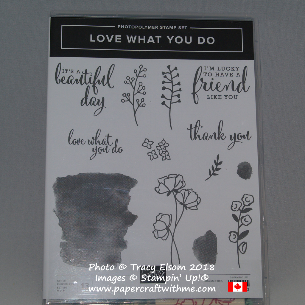 Love What You Do Stamp Set from Stampin' Up!