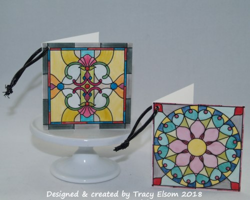 Stained-Glass Gift Tags