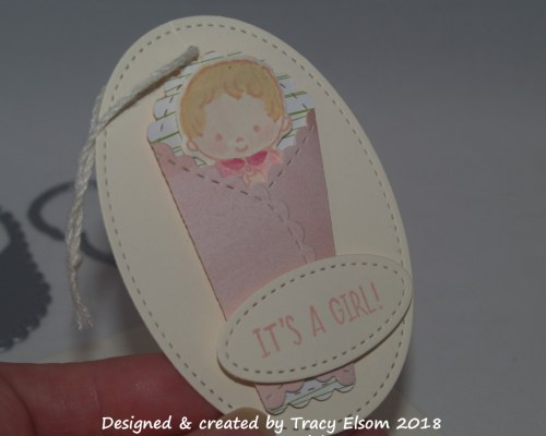 It's a Girl! Gift Tag