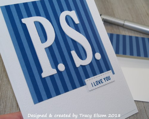 1522 P.S. I Love You Card