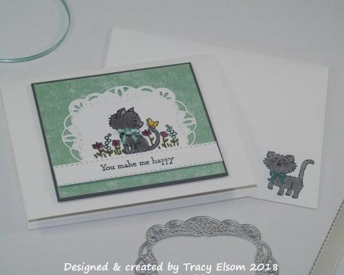 1526 Happy Kitty Card