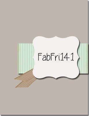 Fab Friday Challenge Logo - FabFri141 (sketch challenge)